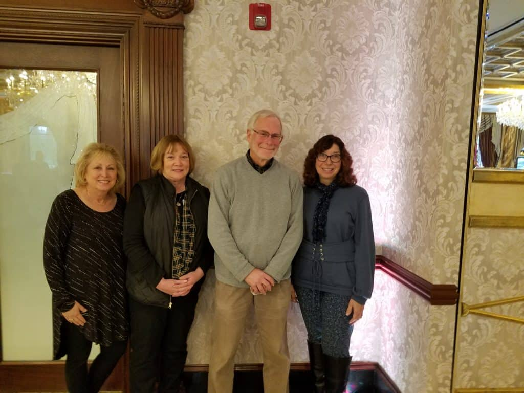 Sandy Hirsch, Paty Zachmann, Alan Saslowsky and Susan Ryan